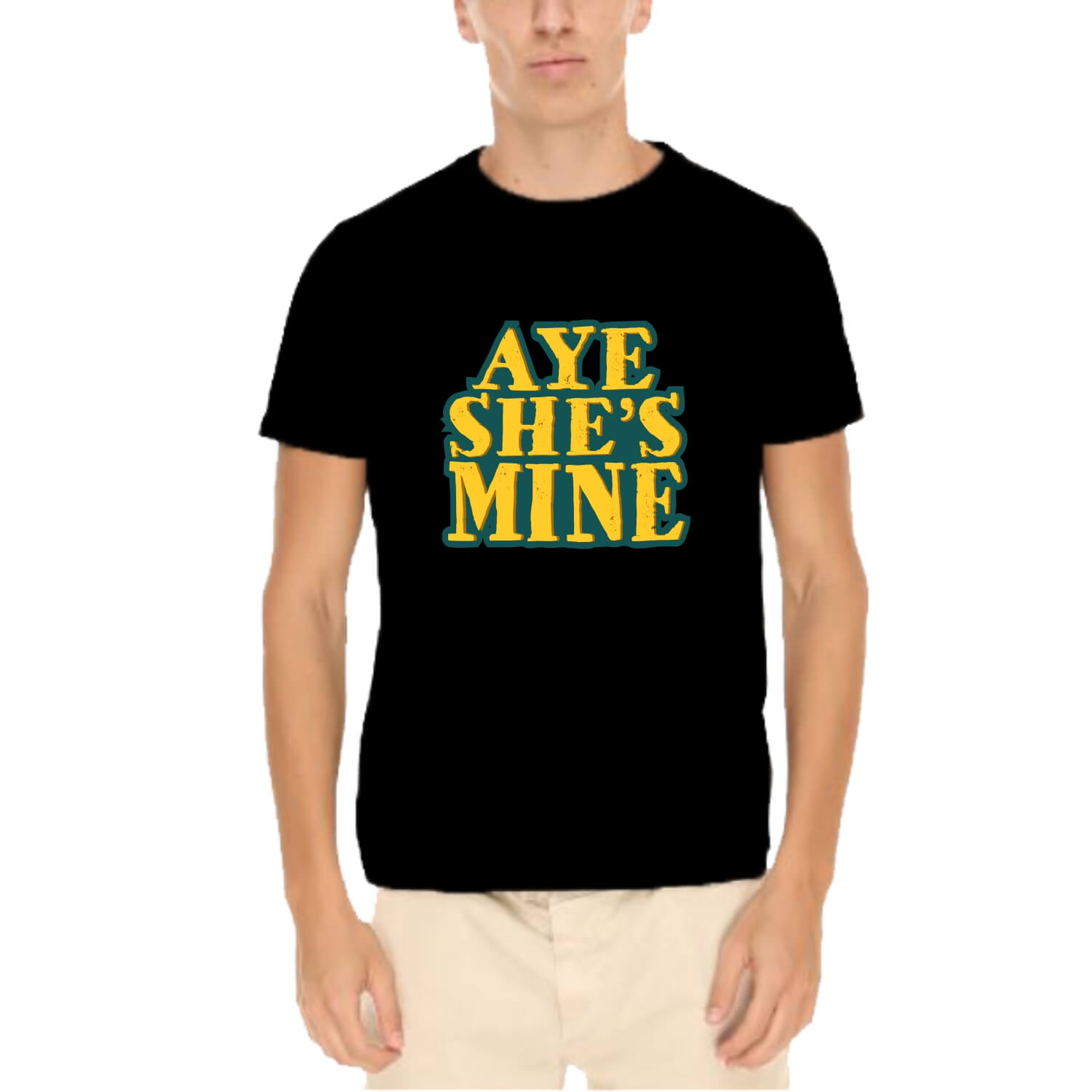 fe326b9299 T-Shirt for Men. Available options: Aye She's Mine T-Shirt for Men –  ₹549.00. Aye She's Mine ...