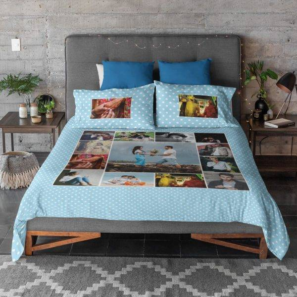 2. Personalized Bedsheet