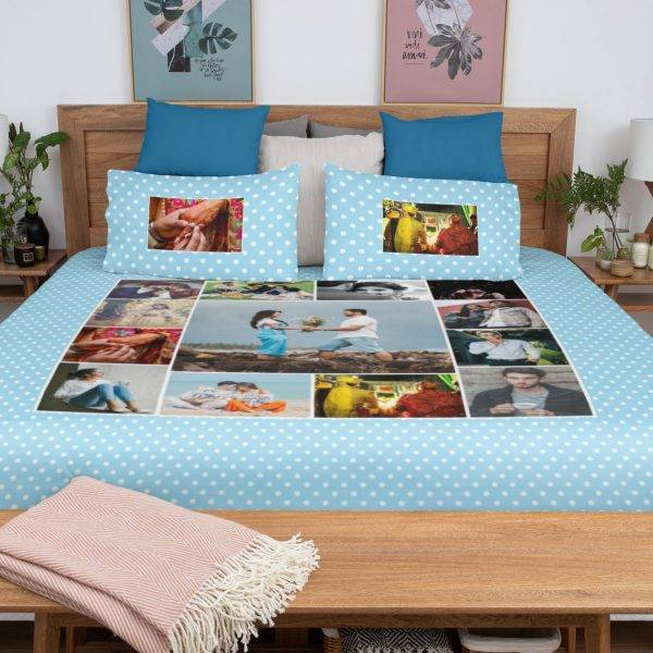 3. Personalized Bedsheet
